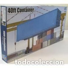 Maquettes: TRUMPETER - 40FT CONTAINER 1/35 01030. Lote 210970820