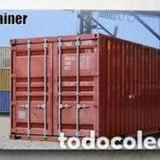 Maquettes: TRUMPETER - 20FT CONTAINER 1/35 01029. Lote 210970844