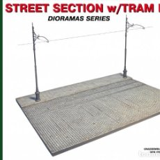 Maquetas: STREET SECTION W/TRAM LINES. MINIART. 1/35. Lote 211401391