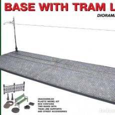 Maquetas: BASE WITH TRAM LINE. MINIART. 1/35. Lote 211401622