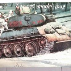 Macchiette: TANQUE RUSO PARA MONTAR T 34/76 MODEL 1942. Lote 211650125