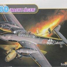 "Macchiette: MAQUETA AVIÓN MESSERSCHMITT BF-110 D ""NACHTJÄGER"", REF. 5561, 1/48, DRAGÓN. Lote 211727358"