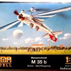 Maquetas: MESSERSCHMITT M.35B (GUERRA CIVIL / SPANISH CIVIL WAR) 1/72 HUMA. Lote 211826931