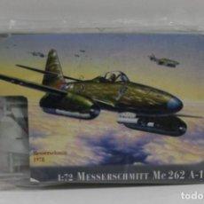 Maquettes: MAQUETA REVELL MESSERSCHMITT ME 262 A-1A ESCALA 1/72. Lote 211864087