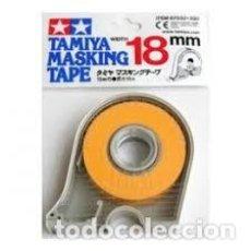 Maquettes: TAMIYA - CINTA PARA ENMASCARAR 18 MM CON APLICADOR 87032. Lote 211939023