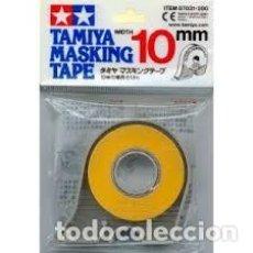 Maquettes: TAMIYA - CINTA PARA ENMASCARAR 10 MM CON APLICADOR 87031. Lote 211939035