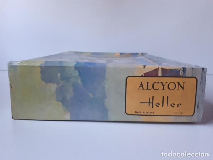 Maquetas: MAQUETA BARCO FRANCÉS ALCYON DE HELLER ESCALA 1 /150 REF. L797 ANTIGUA SIN MONTAR - Foto 4 - 212000743