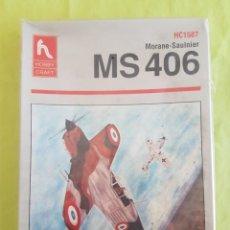 Maquetas: MAQUETA MS 406 HOBBY CRAFT 1/48. Lote 212259388