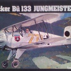 Maquetas: BÜCKER BÜ 133 JUNGMEISTER (SPANISH CIVIL WAR/GUERRA CIVIL) 1/72 HELLER. Lote 212260826