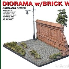 Maquetas: DIORAMA WITH BRICK WALL. MINIART. 1/35. Lote 212263787