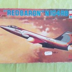 Maquetas: MAQUETA AVION RED BARON N104 RB ,ESCI 1/72. Lote 212263838