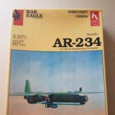 Maquetas: MAQUETA AR -234 ARADO HOBBY CRAFT 1/48. Lote 212264193