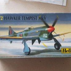 Maquetas: MAQUETA HELLER HAWKER TEMPES MKIV,1/72. Lote 212267110