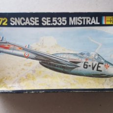 Maquetas: MAQUETA SNCASE MISTRAL 1/72. Lote 212267310