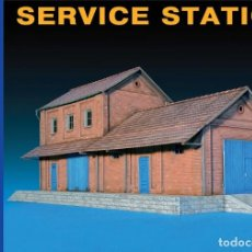 Maquetas: SERVICE STATION. MINIART. 1/72. Lote 212280823