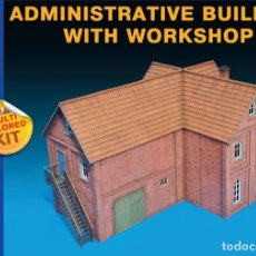 Maquetas: ADMINISTRATIVE BUILDING WITH WORKSHOP. MINIART. 1/72. Lote 212283985