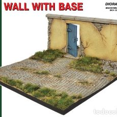 Maquetas: WALL WITH BASE. MINIART. 1/35. Lote 212284426