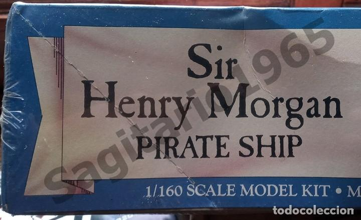 Maquetas: 1994 LINDBERG ESC 1/160 PLASTIC SIR HENRY MORGAN PIRATA SHIP / BARCO - Foto 3 - 212387171