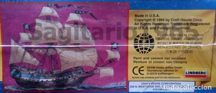 Maquetas: 1994 LINDBERG ESC 1/160 PLASTIC SIR HENRY MORGAN PIRATA SHIP / BARCO - Foto 2 - 212387171