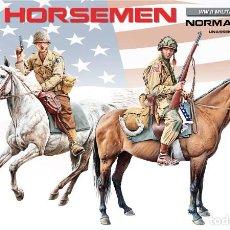 Maquetas: US HORSEMEN. MINIART. 1/35. Lote 212904211