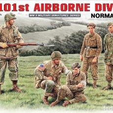 Maquetas: US 101 AIRBORNE DIVISION. NORMANDÍA 1944. MINIART. 1/35. Lote 212904867