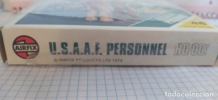 Maquetas: U. S. A. A. F / R. A. F. Personnel de airfix. Lote de dos cajas completas y sin usar. Años 70 - Foto 14 - 212935305