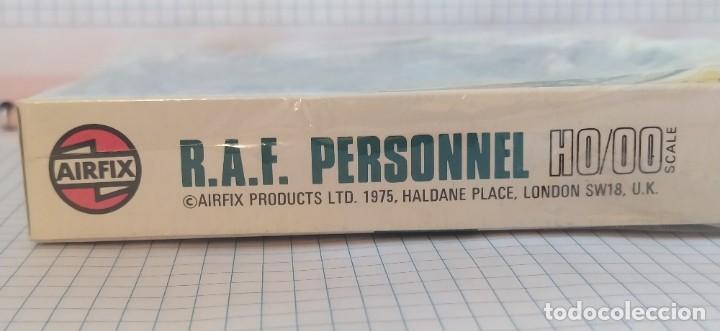 Maquetas: U. S. A. A. F / R. A. F. Personnel de airfix. Lote de dos cajas completas y sin usar. Años 70 - Foto 5 - 212935305