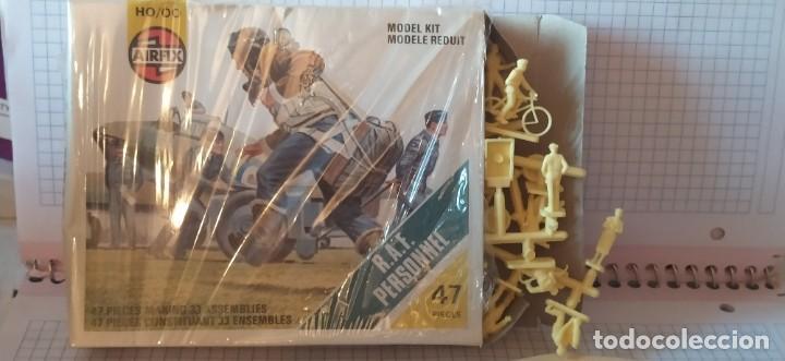 Maquetas: U. S. A. A. F / R. A. F. Personnel de airfix. Lote de dos cajas completas y sin usar. Años 70 - Foto 6 - 212935305