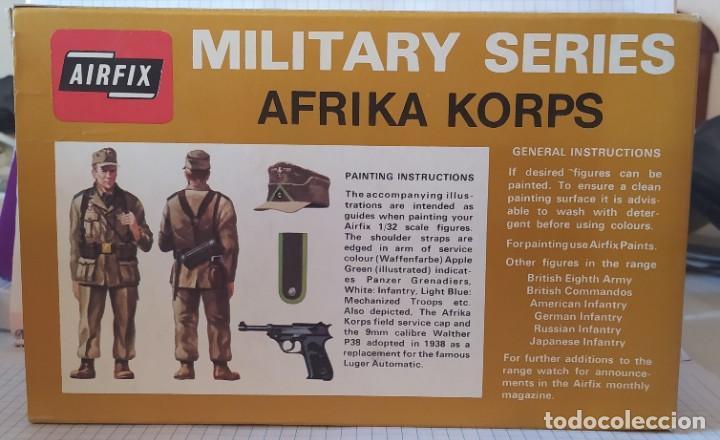 Maquetas: Afrika Korps 1/32 military series de Airfix. Nuevo a estrenar. Años 70 - Foto 4 - 212936287