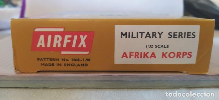 Maquetas: Afrika Korps 1/32 military series de Airfix. Nuevo a estrenar. Años 70 - Foto 5 - 212936287