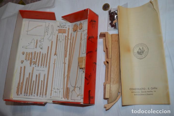Maquetas: CONSTRUCTO / Pirate - Brig R-409 / Antigua maqueta descatalogada - Made In Spain ¡Muy difícil, mira! - Foto 2 - 212969686