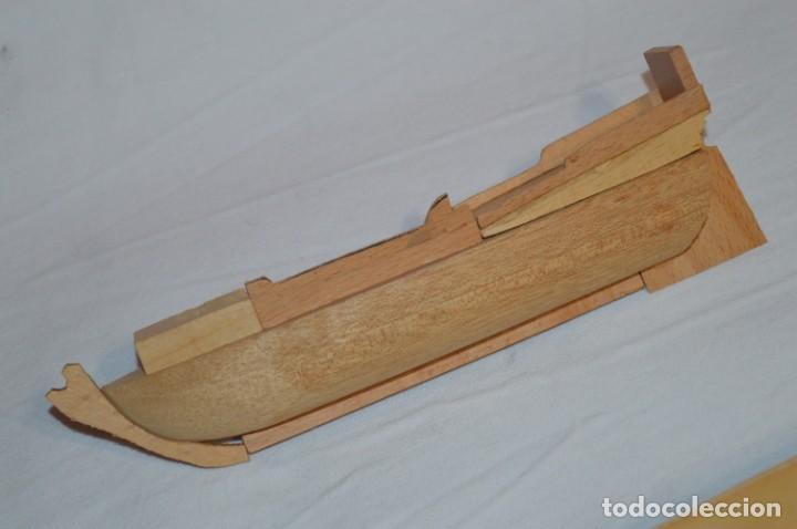 Maquetas: CONSTRUCTO / Pirate - Brig R-409 / Antigua maqueta descatalogada - Made In Spain ¡Muy difícil, mira! - Foto 8 - 212969686