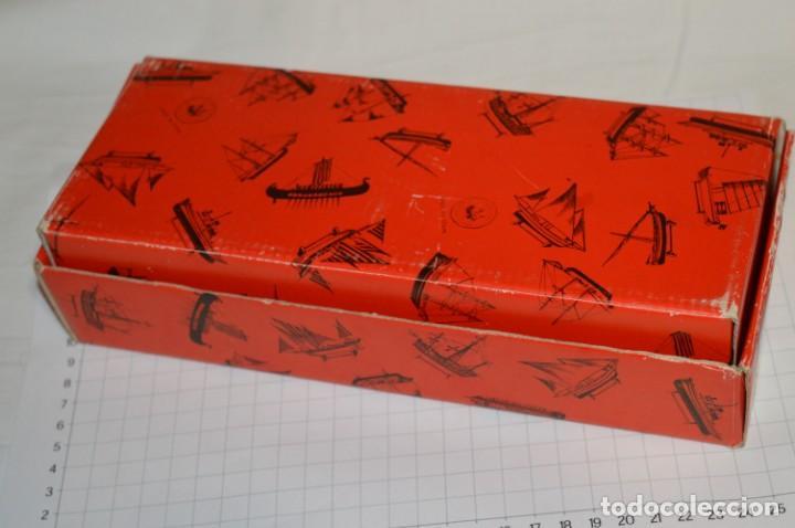 Maquetas: CONSTRUCTO / Pirate - Brig R-409 / Antigua maqueta descatalogada - Made In Spain ¡Muy difícil, mira! - Foto 22 - 212969686