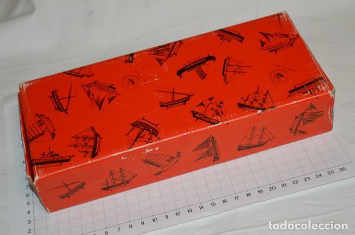 Maquetas: CONSTRUCTO / Pirate - Brig R-409 / Antigua maqueta descatalogada - Made In Spain ¡Muy difícil, mira! - Foto 23 - 212969686