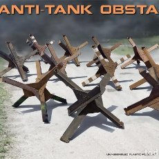 Maquetas: ANTI-TANK OBSTACLES. MINIART. 1/35. Lote 212993585