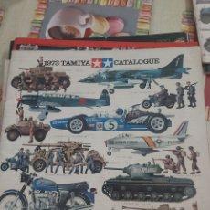 Maquettes: CATALOGO TAMIYA 1973. Lote 213102211