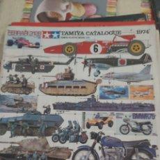 Maquettes: CATALOGO TAMIYA 1974. Lote 213102257