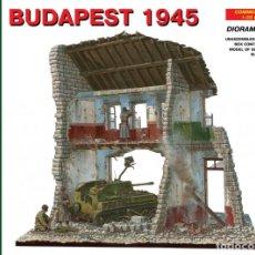 Maquetas: BUDAPEST 1945. MINIART. 1/35. Lote 213159696