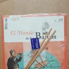 Macchiette: EL MUNDO DE LOS BARCOS-EDICIONES PRADO Nº39. Lote 213243431