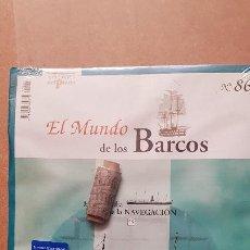 Macchiette: EL MUNDO DE LOS BARCOS-EDICIONES PRADO Nº 86. Lote 213243886