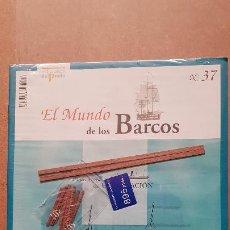 Macchiette: EL MUNDO DE LOS BARCOS-EDICIONES PRADO Nº 37. Lote 213243977