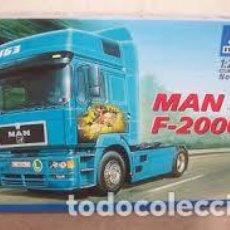 Maquettes: ITALERI - MAN F-2000 1/24 714. Lote 213513182