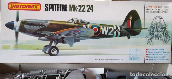 SPITFIRE MK-22/24 1:32 MATCHBOX 1975. NUEVO (Juguetes - Modelismo y Radio Control - Maquetas - Aviones y Helicópteros)