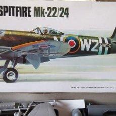 Maquetas: SPITFIRE MK-22/24 1:32 MATCHBOX 1975. NUEVO. Lote 213575872