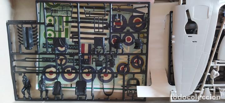 Maquetas: Spitfire Mk-22/24 1:32 Matchbox 1975. Nuevo - Foto 8 - 213575872