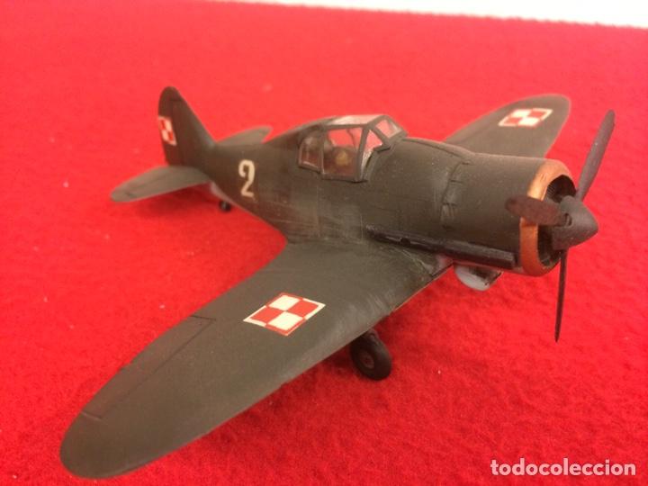 PZL P11. POLONIA (Juguetes - Modelismo y Radio Control - Maquetas - Aviones y Helicópteros)