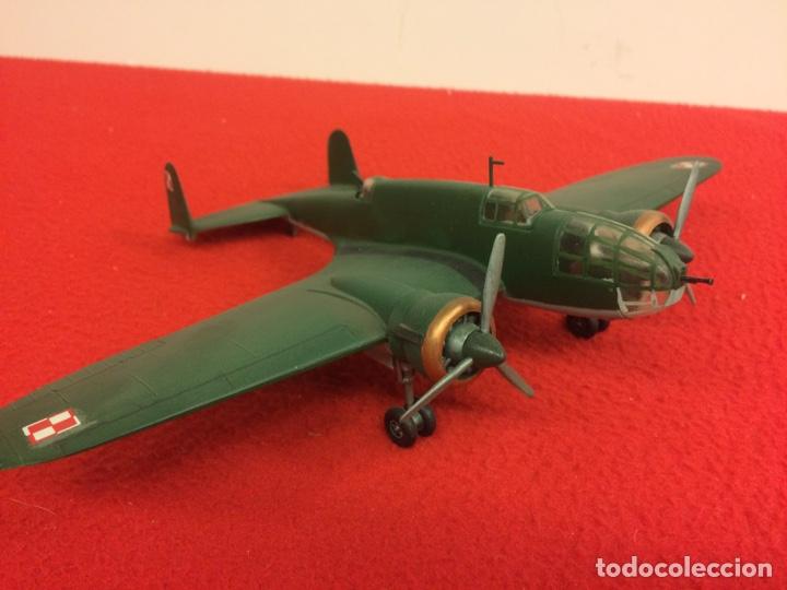 PZL P37. POLONIA (Juguetes - Modelismo y Radio Control - Maquetas - Aviones y Helicópteros)