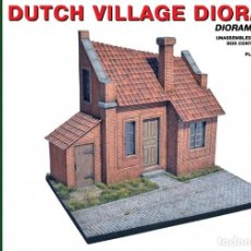 Maquetas: DUTCH VILLAGE DIORAMA. MINIART. 1/35. Lote 213633045