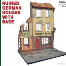 Maquetas: RUINED GERMAN HOUSES. MINIART. 1/35.. Lote 213633580