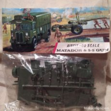 "Maquetas: AIRFIX-00 SCALE MATADOR & 5.5"" GUN. NUEVO SIN ABRIR. Lote 213670510"